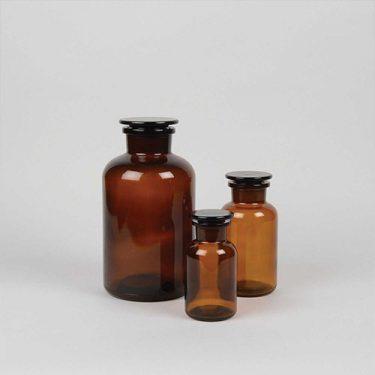 شیشه پودر آزمایشگاه
