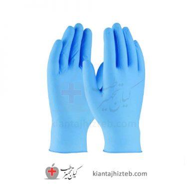 دستکش نیتریل نیتکس | خرید دستکش نیتریل | قیمت دستکش نیتریل آبی