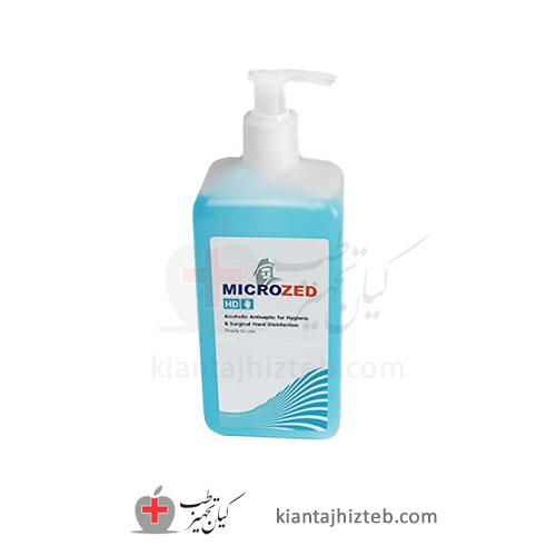 محلول ضدعفونی کننده میکروزد microzed نیم لیتر