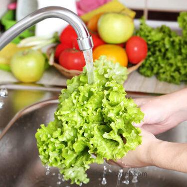 ضدعفونی کننده میوه و سبزیجات من