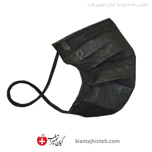 ماسک مشکی سه لایه پاوان طب