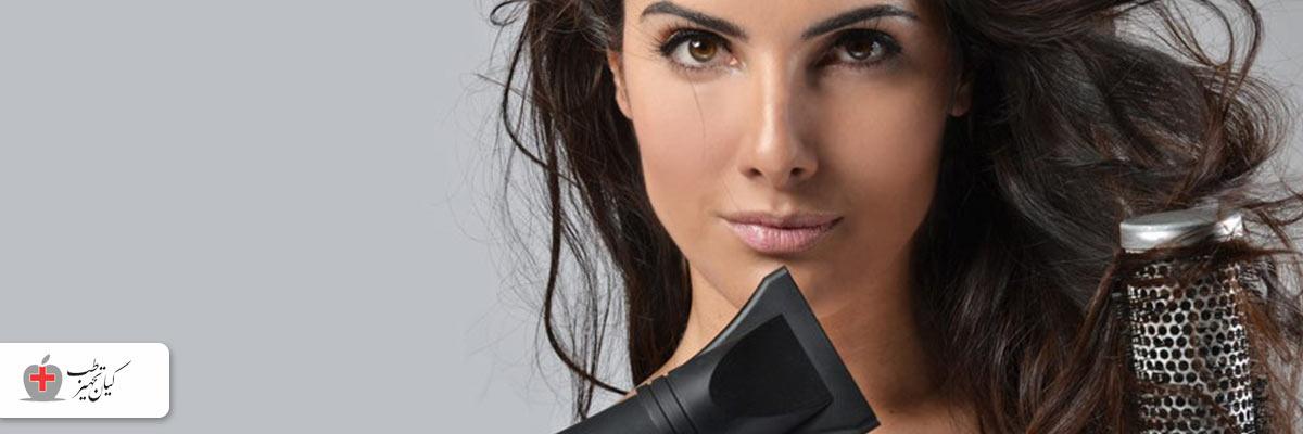 مراقبت از موهای آسیب دیده با ترک سشوار