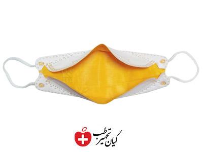ماسک سه بعدی زرد پنج لایه