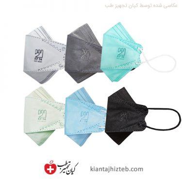 ماسک سه بعدی پنج لایه فست kf94