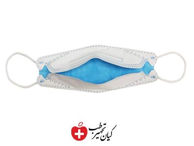 ماسک سه بعدی آبی پنج لایه