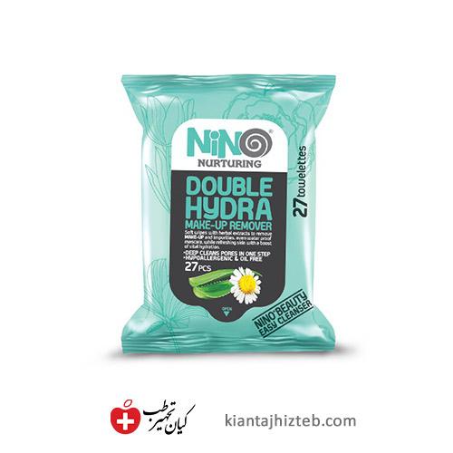دستمال مرطوب پاک کننده آرایش نینو آبرسان