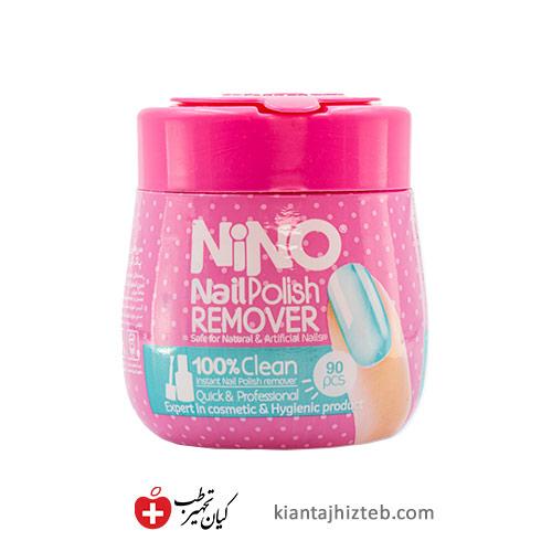 دستمال مرطوب پاک کننده لاک نینو