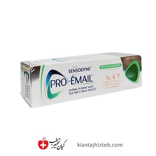 خمیر دندان سنسوداین pro email