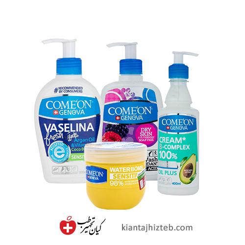 پک تخصصی مراقبت از پوست خشک کامان
