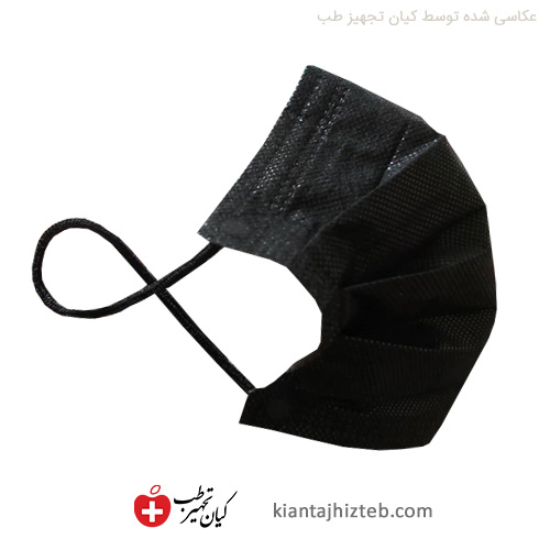 ماسک پنج لایه پرستاری مشکی طبیب