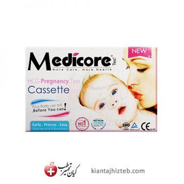 تست بارداری Medicore مدل کاستی