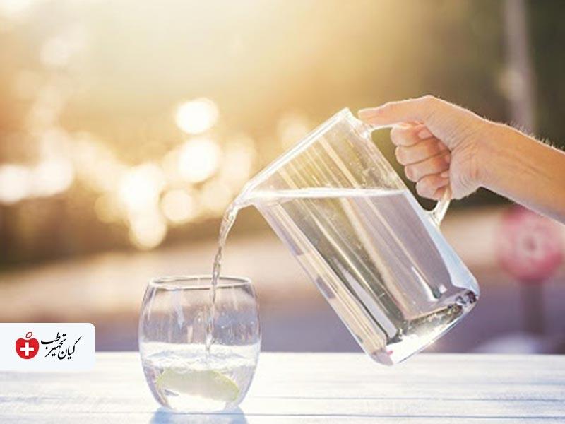 تسکین عوارض واکسن کرونا با آب